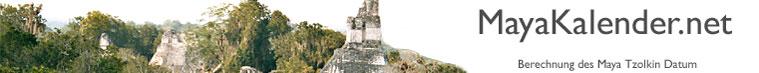 MayaKalender.net - Berechnung des Maya Tzolkin Datum